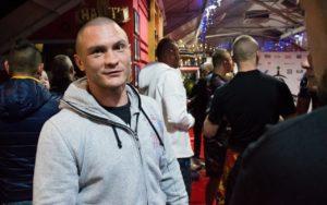 Lukasz Plawecki trening medialny Celtic Gladiator